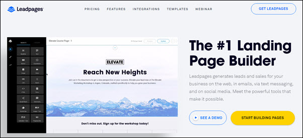 The Ultimate Guide To Leadpages Software