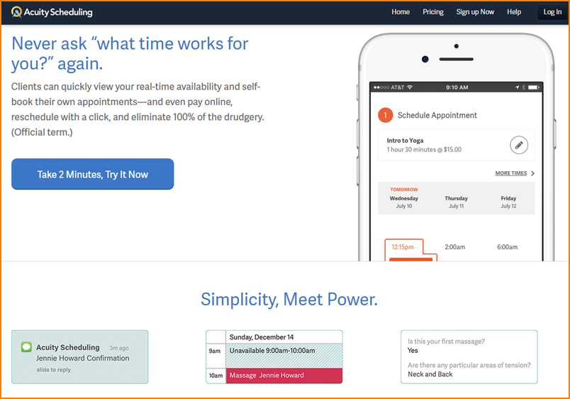 Acuity Scheduling Review: 7 Praiseworthy Features